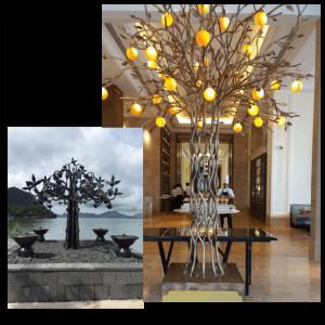 custom artwork metal furniture