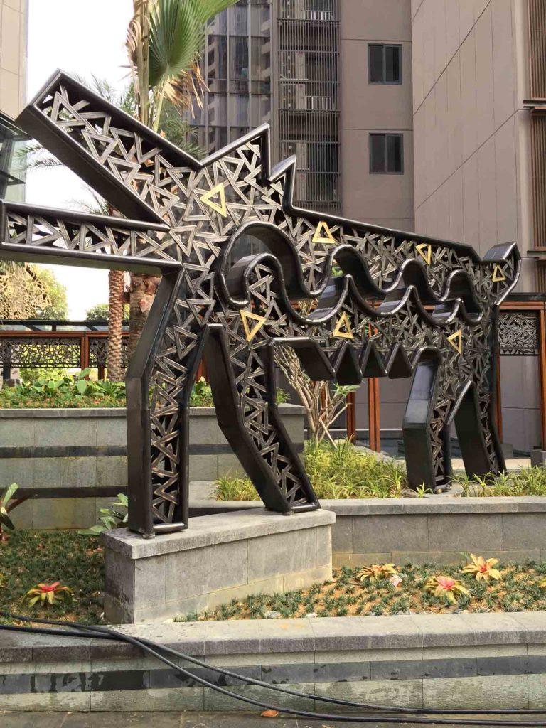 Twin Peaks Artwork Metal 5